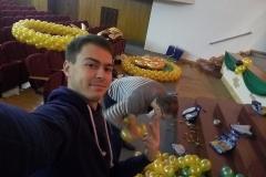 Оформление шарами Месье Шар_концерт Детскосельский8-min