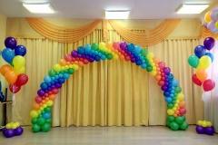 Оформление шарами Месье Шар детский сад 37-min