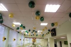 Оформление шарами Месье Шар_концерт Детскосельский13-min