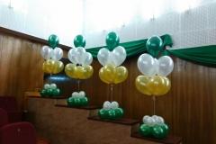 Оформление шарами Месье Шар_концерт Детскосельский3-min