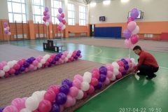 Оформление шарами Месье Шар_школа 93_8-min