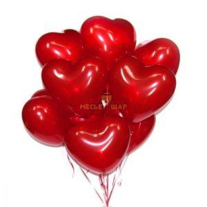 Сердце шар без рисунка