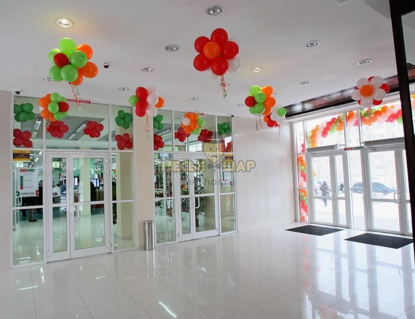 Воздушные шары и оформление шарами помещений