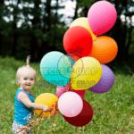 Как правильно надуть шарик гелием?