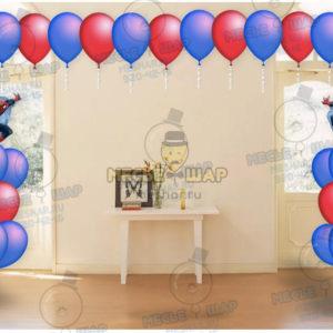 Пакет №2 из воздушных шаров с гелием