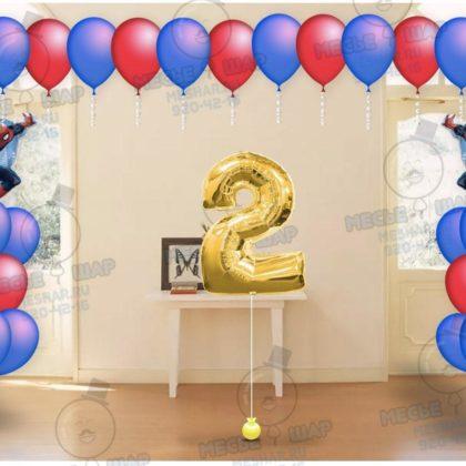 Пакет №11 из воздушных шаров с гелием
