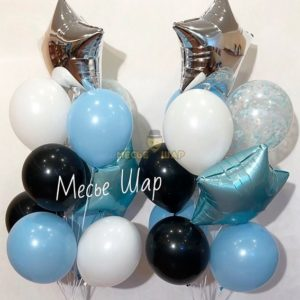 Фонтан - Искорка из воздушных шаров