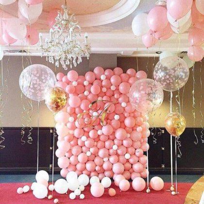 Фото зона - Мечта из воздушных шаров