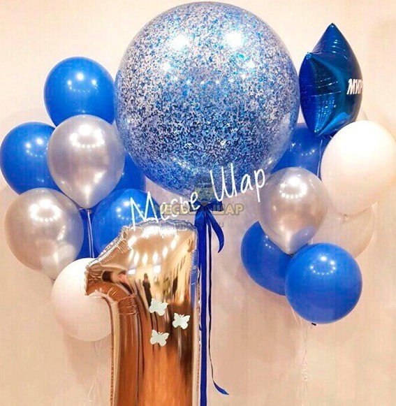 Гигант синий
