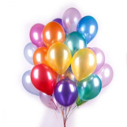 Шары металлик - купить воздушные шары Пастель в СПБ с доставкой