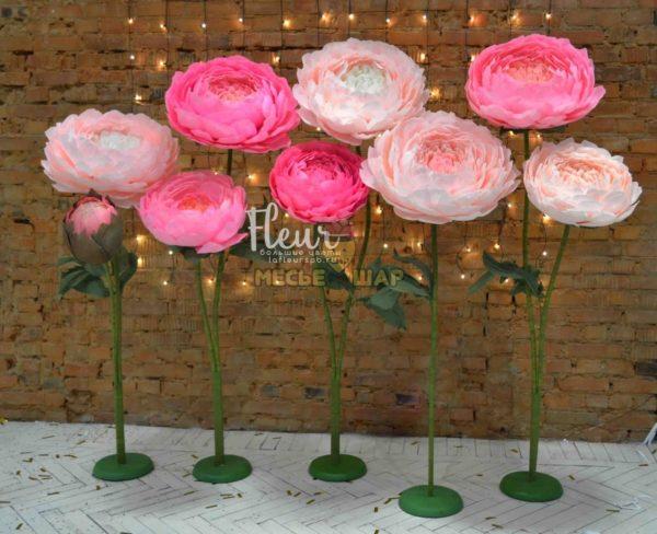 Лес цветов - Розовый на свадьбу