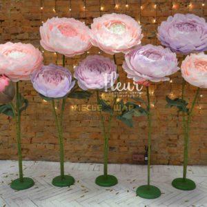 Лес цветов Сиреневый на свадьбу - аренда в сутки