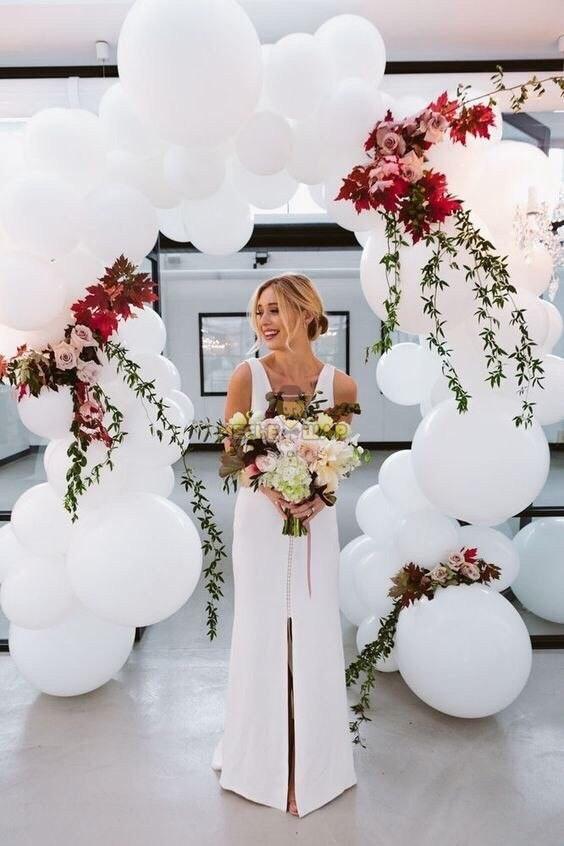 Арка - Легкость из шаров на свадьбу