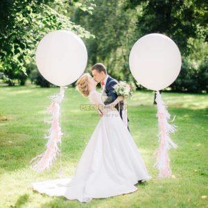Белый гигант + лента тессел на свадьбу