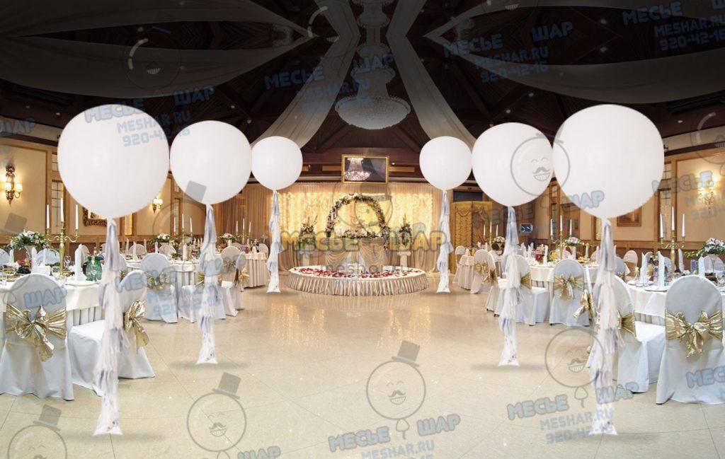 Свадебный пакет из воздушных шаров 7
