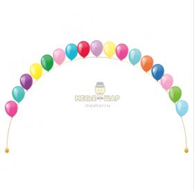 Цепочка из воздушных шаров #5