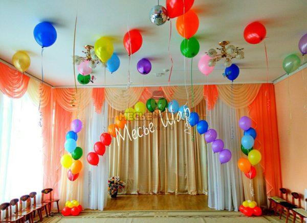 Цепочка из воздушных шаров #4
