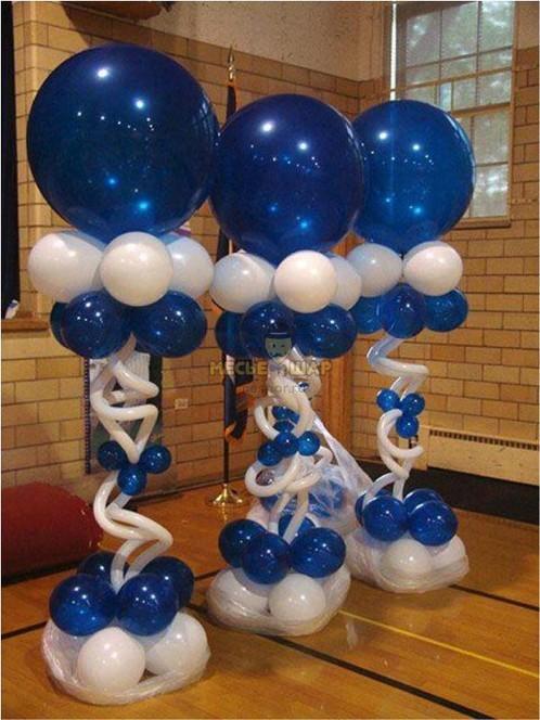 Стойка из воздушных шаров #1