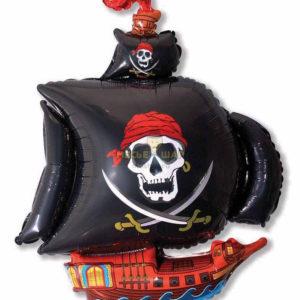 Фольгированный шар Корабль