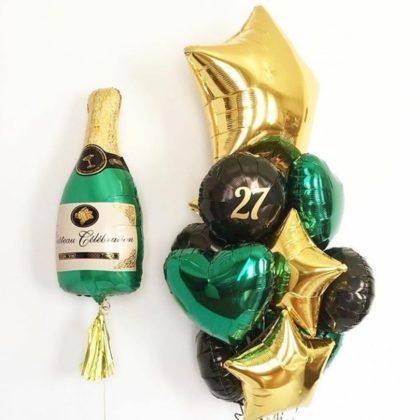 Всем шампанского из шаров