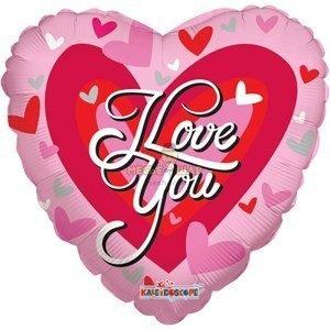Шар I love you к 14 февраля