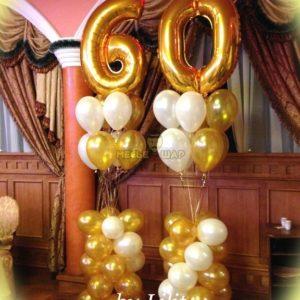 Композиция #3 из шаров на День рождения
