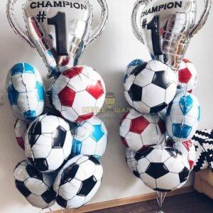 Кубок чемпиона из шаров