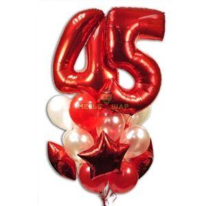 Композиция #4 из шаров на День рождения