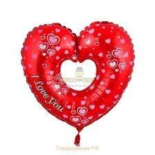 Шарик сердцем к 14 февраля