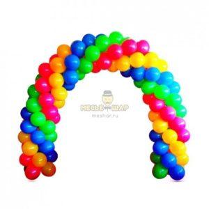 Арка Разноцветная из шаров