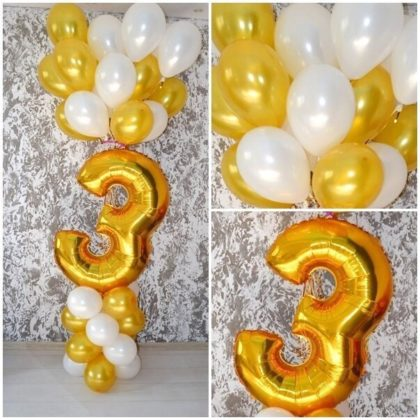 Цифра на стойке +15 шаров