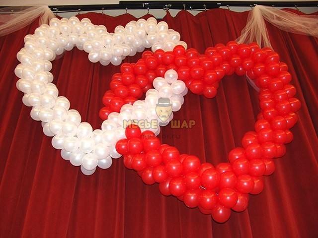 Двойное сердце к 14 февраля