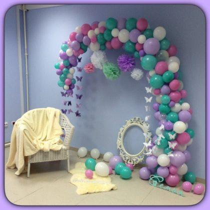 Фотозона #9 и воздушные шары
