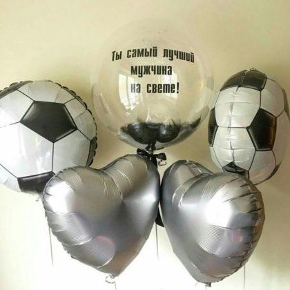 Набор Баблс + фольга из шаров