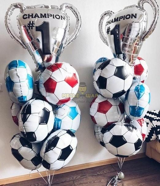 Кубок чемпиона из шаров детям