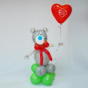 Мишка с сердцем к 14 февраля