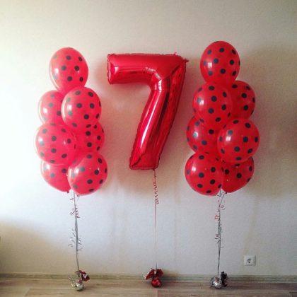 Набор #2 из шаров на детский День рождения