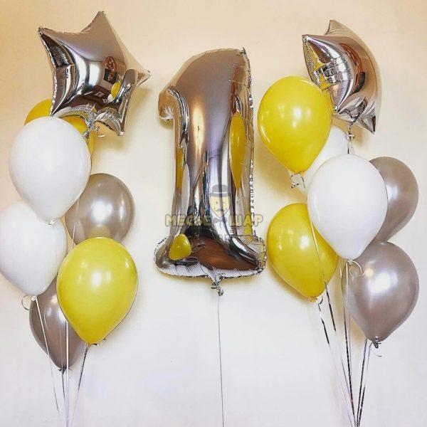Набор #3 из шаров на детский День рождения