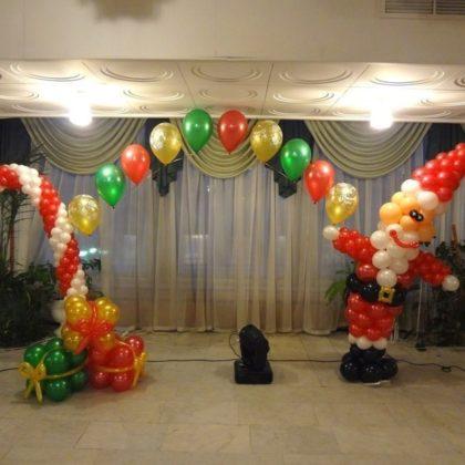 Набор #3 из шаров на Новый год