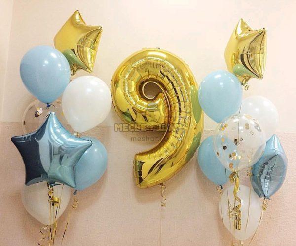 Набор #6 из шаров на детский День рождения
