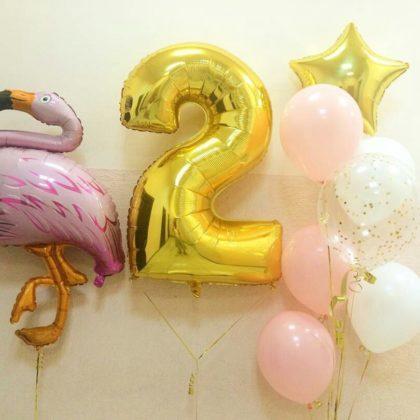 Набор #7 из шаров на детский День рождения
