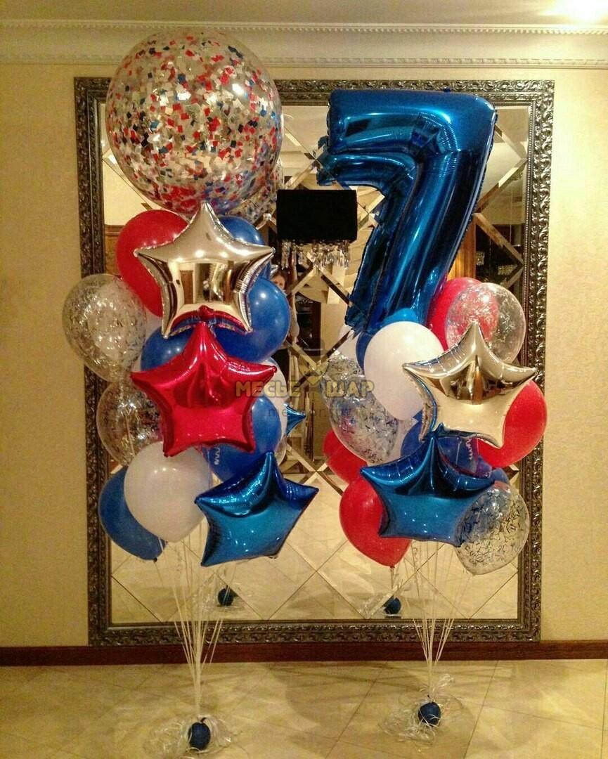 Набор #8 из шаров на детский День рождения