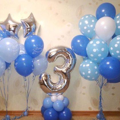 Набор #9 из шаров на детский День рождения