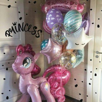 Пинки Пай из шаров детям