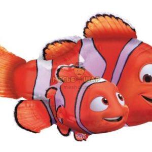 Фольгированный шар Рыбки Немо