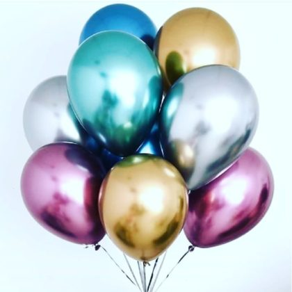 ХИТ — 30 шаров Хром