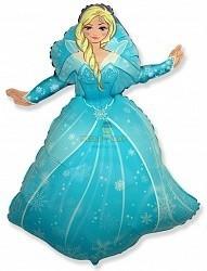 Фольгированный шар Снежная королева