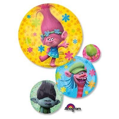 Фольгированный шар Тролли