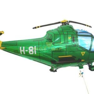 Вертолет из шаров к 23 февраля