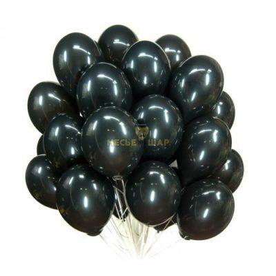 Черные (30шт) - облако из шаров